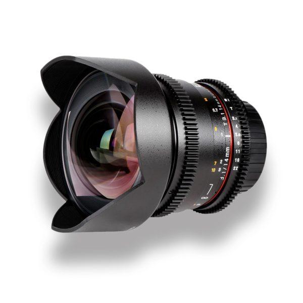 14mm T3.1 Cine Lens para Canon EF - THUMB - Digital Azul
