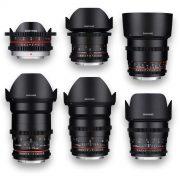 6 - Objetivas - Lenses - Rokinon - Samyang - MFT - for rent at DigitalAzul