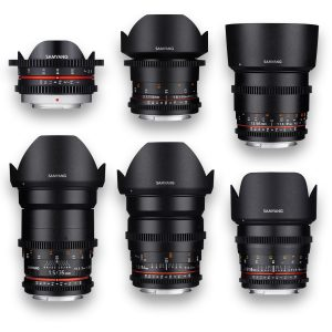 6 - Objetivas - Lenses - Rokinon - Samyang - MFT - for rent at DigitalAzul