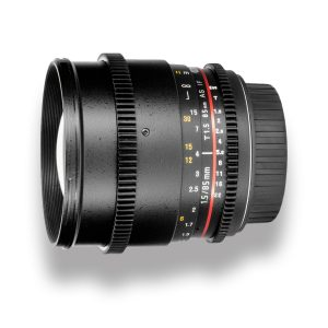 85mm T1.5 Cine Lens para Canon EF - THUMB - Digital Azul