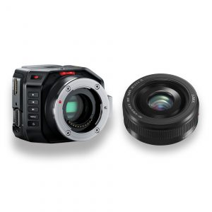 Blackmagic-Micro-Studio-Camera-4K-Objetiva MFT 20mm f1.7 -THUMB-Digital-Azul