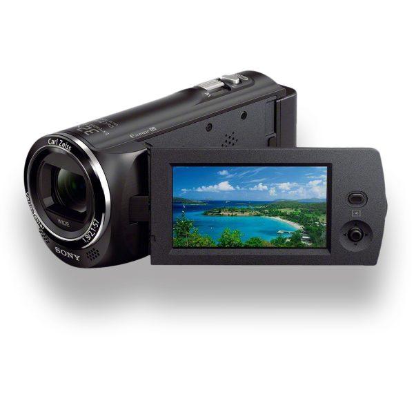 Handycam Sony HDR-CX220 - THUMB - Digital Azul