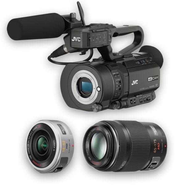KIT JVC GY-LS300 4KCAM S35mm + 2 Objetivas Lumix - THUMB