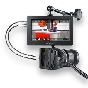 Micro Studio Camera 4K + Objetiva MFT + Video Assist - THUMB - Digital Azul