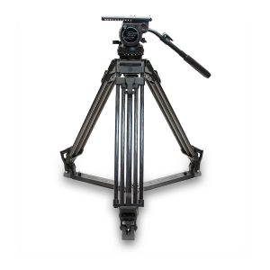Sachtler Video 20 III Fluid Head & Carbon Fiber Tripod System (100mm Ball)- THUMB - Digital Azul