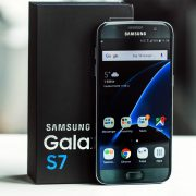 Samsung S7 - Digital Azul