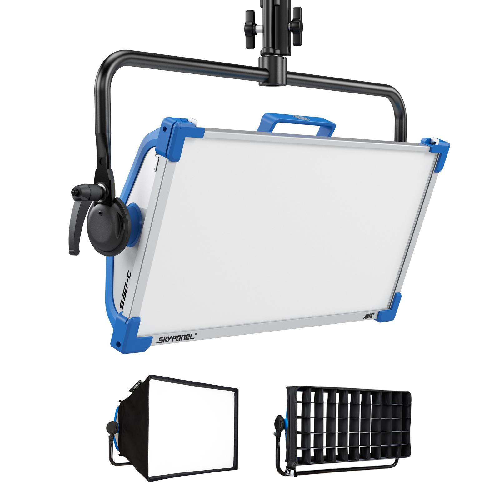 arrives 0b389 3b6c5 Kit Arri SkyPanel S60-C + Softbox + Snapgrid - for rent at Digital Azul