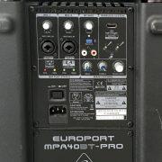 Big-Back 1 Behringer mpa40bt-pro Digital Azul
