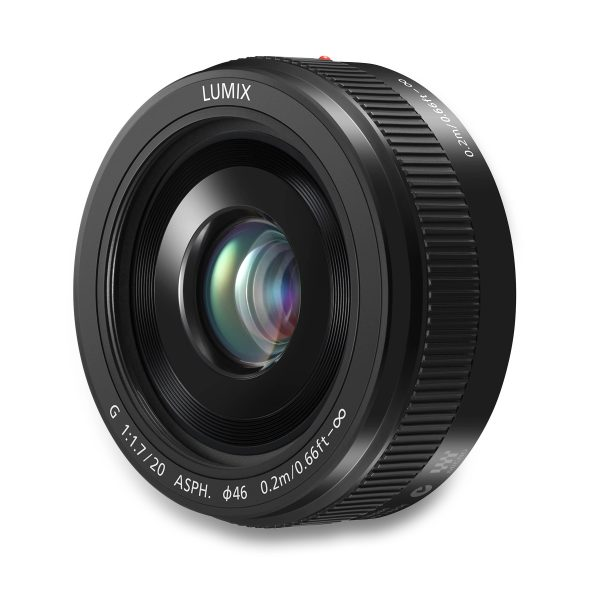 Panasonic 20mm f1.7 Lumix G II ASPH Lens - B - Digital Azul