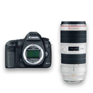 KIT DSLR - Canon 5D Mark III + Zoom f-2.8, 70-200mm- THUMB - Digital Azul