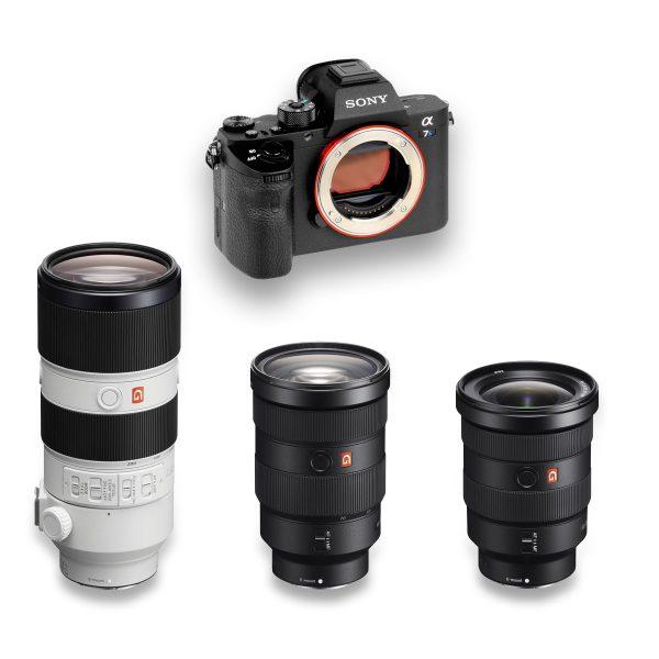 Sony A7s II + 3 Lens Sony GM - THUMB