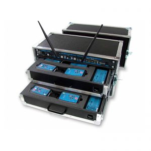 Intercom 6 postos wireless - Thumb Digital Azul
