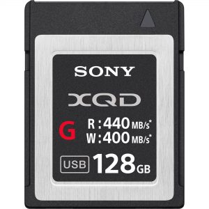 Sony-XQD-400Mbs-128Gb- Thumb - Digital Azul