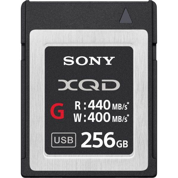 Sony-XQD-400Mbs-256Gb- Thumb - Digital Azul