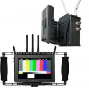Transmissor Video HD Wireless 300 m + Director's Monitor - THUMB CCCC - Digital Azul