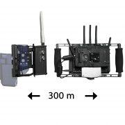 Transmissor Video HD Wireless 300 m + Director's Monitor - THUMB EEEE - Digital Azul