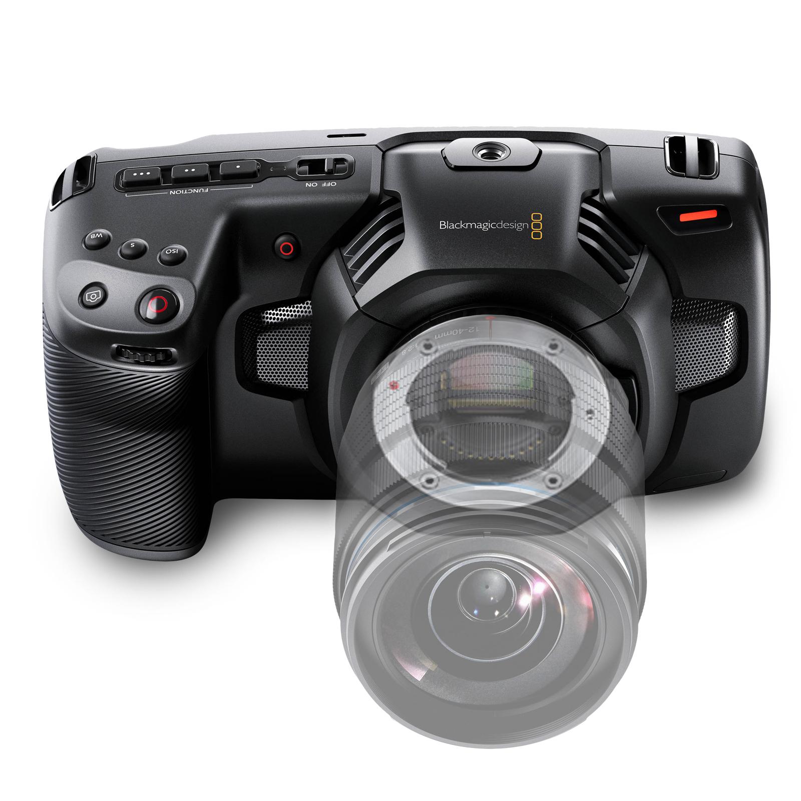 Blackmagic Pocket Cinema Camera 4K available for rent at Digital Azul