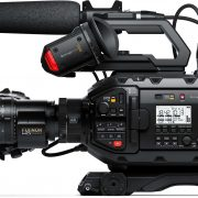 Blackmagic URSA Broadcast + Fujinon A 22 x 7.8 - A - Digital Azul