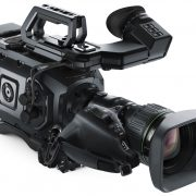 Blackmagic URSA Broadcast + Fujinon A 22 x 7.8 - B - Digital Azul
