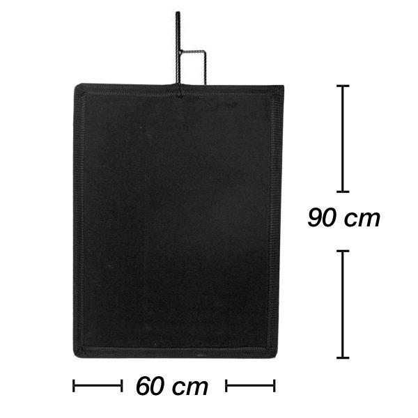 Bandeiras negras Avenger 90cmx60cm - Digital Azul