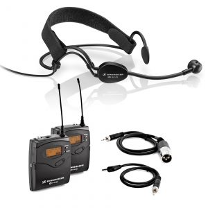 Kit Headset Sennheiser ME 3-II + Emissor Wireless Sennheiser - for rent at Digital Azul