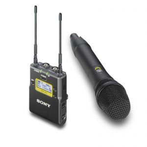 Kit Microfone de Mão Wireless - para aluguer na Digital Azul