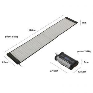 Bendable 100W Bi-Color LED mat - for rent at Digital Azul