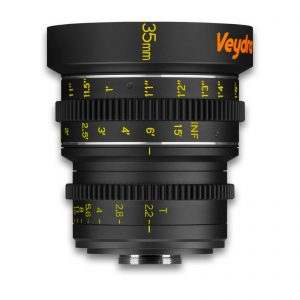 Veydra 35mm T2.2 Mini Prime Lens (C-Mount, Feet) - for rent at Digital Azul
