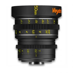 Veydra 50mm T2.2 Mini Prime Lens (C-Mount, Feet) - for rent at Digital Azul