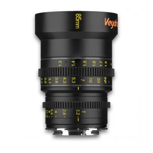 Veydra 85mm T2.2 Mini Prime Lens (C-Mount, Feet) - for rent at Digital Azul