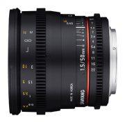 50mm T1.5 VDSLR AS UMC Lens (D) - for rent at Digital Azul