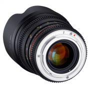 50mm T1.5 VDSLR AS UMC Lens (E) - for rent at Digital Azul
