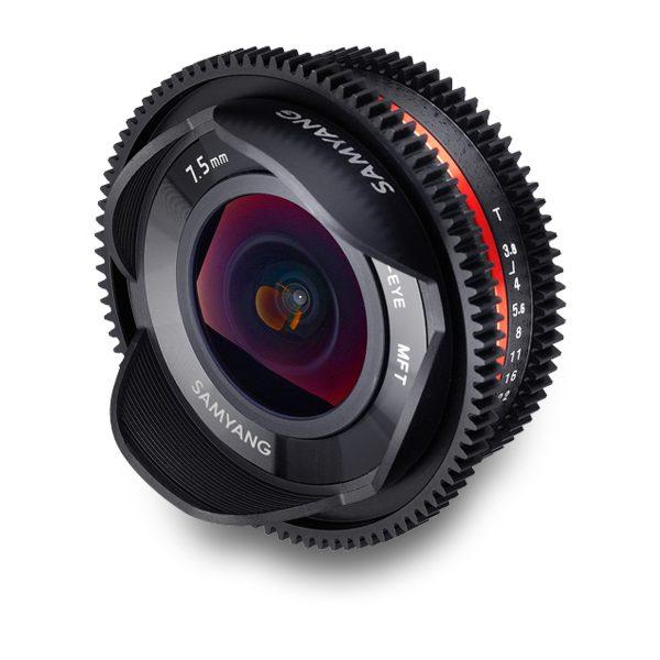 7.5mm T3.8 Cine UMC Fish-eye Lens (A) - for rent at Digital Azul