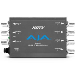 AJA GEN10 HD_SD_AES Sync Generator - for rent at Digital Azul - _0003_A