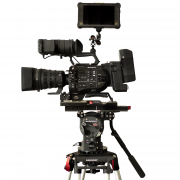 Tripé O'Connor Cine HD c Cabeça O'Connor Ultimate 2560 + Sony FS7 II - for rent at Digital Azul