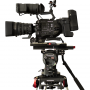 Tripé O'Connor Cine HD c Cabeça O'Connor Ultimate 2560 + Sony FS7 - for rent at Digital Azul