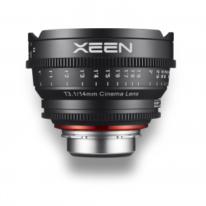 Objetiva Xeen Cine Prime 14mm ~for rent at Digital Azul
