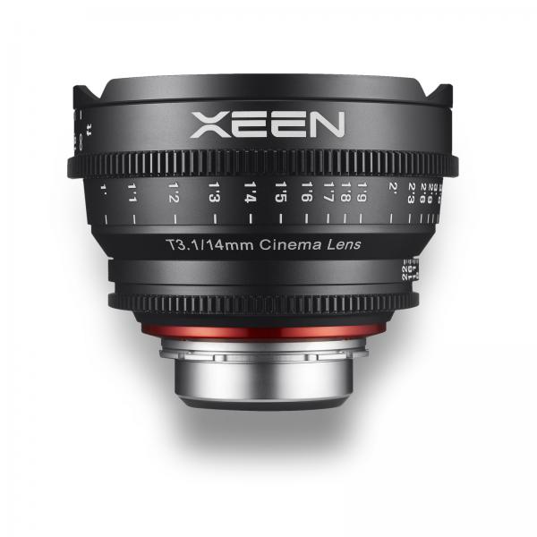 Objetiva Xeen Cine Prime 14mm ~for rent at Digital Azul