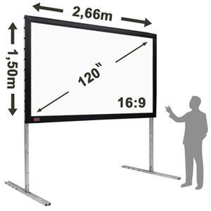 Telas e Vídeo Projetores